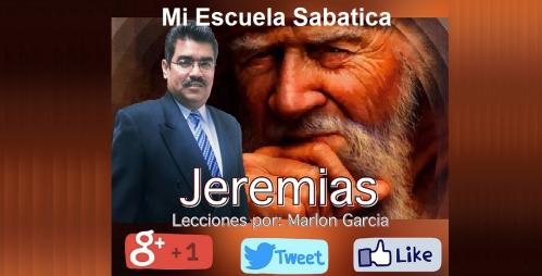 #Jeremías-4°-Cuarto #Trimestre-2015 #Escuela-Sabática